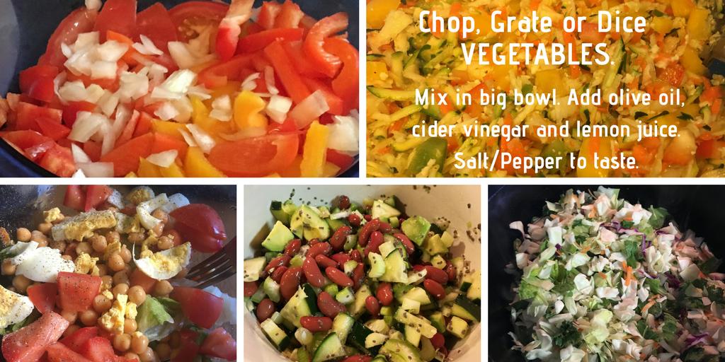 Healthy Potluck Veggie Salad