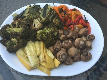 vegetables on Easter