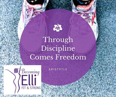 role of discipline in fitness