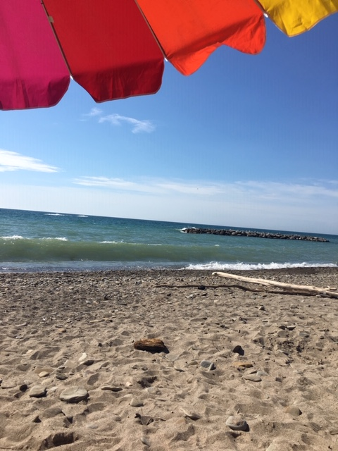 beat the heat at the lake - presque isle state park in Erie PA. Lake Erie,