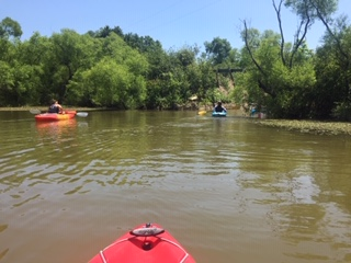beat the heat kayaking at west branch
