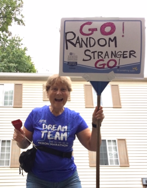 Go Random Stranger - what I learned about Supporting the Runners